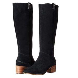 Worn once! UGG Women's Arana Black Suede Boots